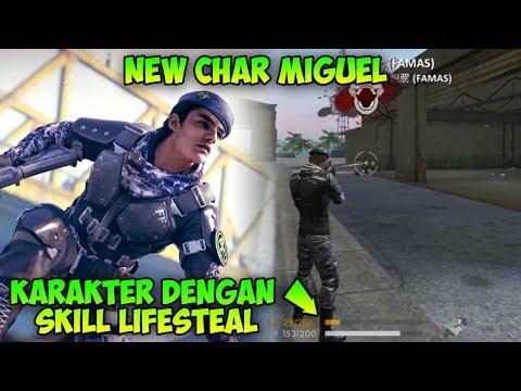 Bocoran Update! Info Skill dan Gameplay Karakter Baru Miguel - Garena Free Fire