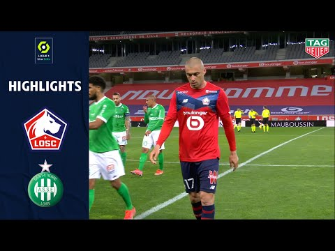 Lille St. Etienne Goals And Highlights