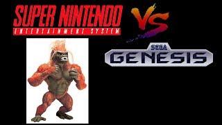 Primal Rage SNES Vs Sega Genesis Music OST Sound Comparison