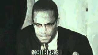 Malcolm X pledges allegiance to the African Americans