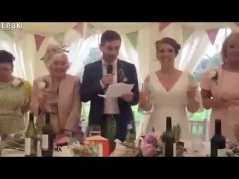 A Man United fan got married into a Man City family, gives a brilliant wedding toast - 2013