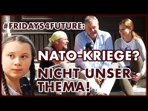#Fridays4Future: NATO Kriege? Nicht unser Thema. Im Gespräch mit Dirk Pohlmann und Julia Szarvasy