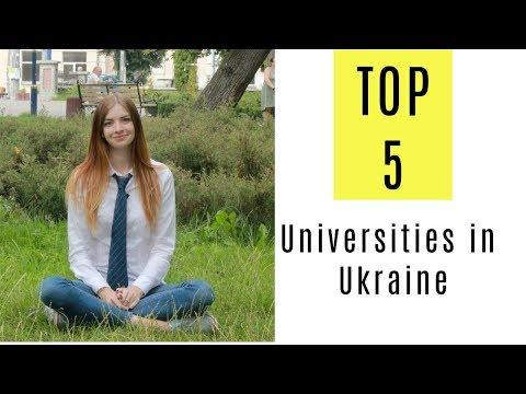 TOP 5 Universities in Ukraine