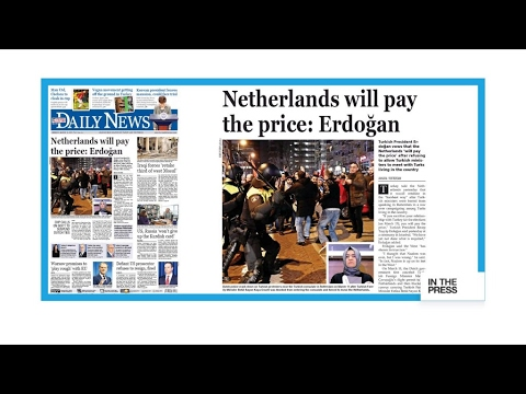 'Netherlands will pay the price': Turkish press react to Erdogan's threats