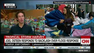Joel Osteen responds to critics on Harvey