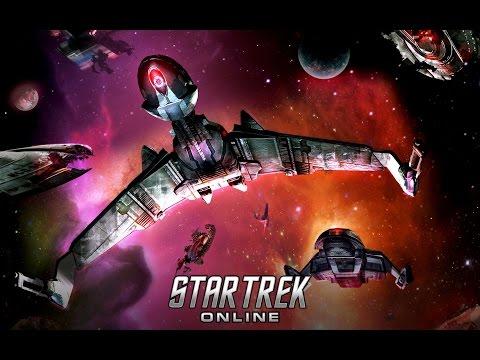 "STAR TREK ONLINE HD ""B'rel Retrofit Fires Cloaked"" (2012)"