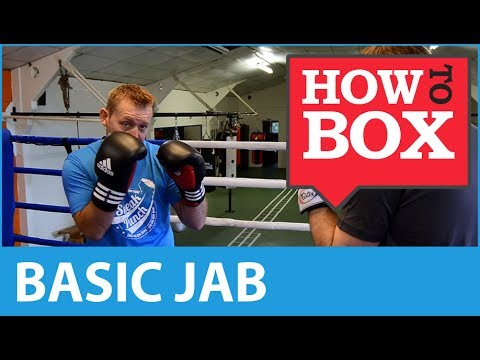 Basic Jab in Boxing - How to Box (Quick Video)