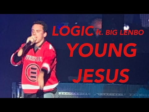 Logic ft. Big Lenbo - Young Jesus (Live at Barclays Center Brooklyn, NY)