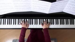 2016年1月11日 録画、 使用楽譜; 原本の楽譜を捜索中 ハナミズキ ピア...