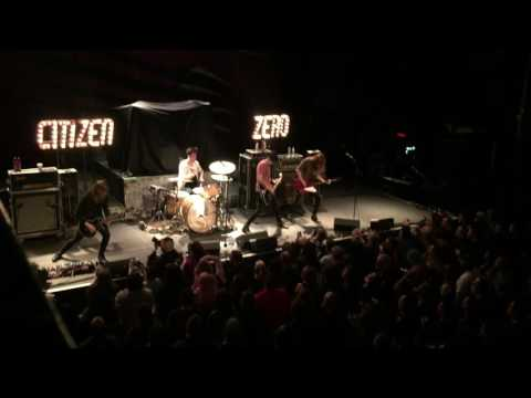 CITIZEN ZERO - LURE AND PERSUADE - RAMSHEAD LIVE - BALTIMORE - 4/7/17