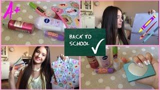 School Supplies Haul+My School essentials