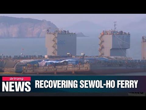 Sewol-ho Ferry emerged