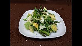 Cалат со спаржей.Очень Вкусный и Полезный салат.