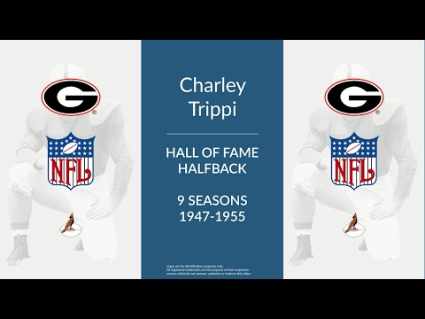 Charley Trippi: Hall of Fame Football Halfback and Quarterback