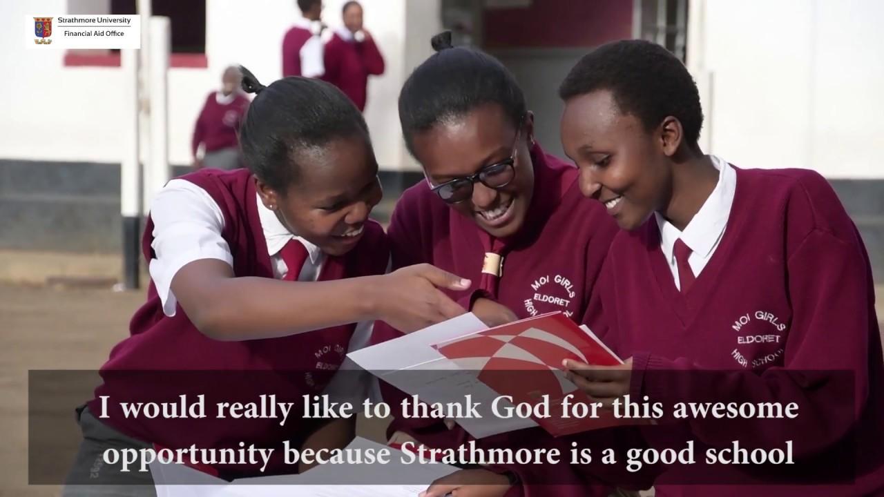 Moi Girls High school trio earn Strathmore University's Brookside Mathlete  Scholarships