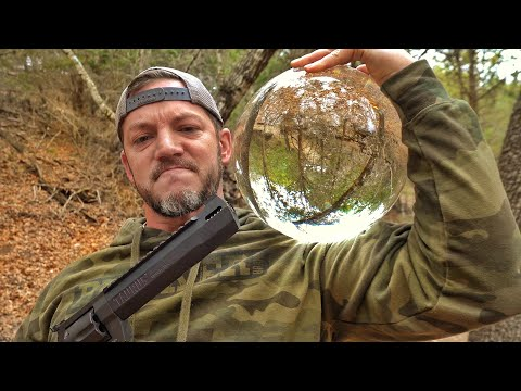 Can a Solid Glass Ball Stop a 50cal???
