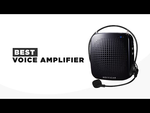 Nefficar Loudspeaker Voice Amplifier - One of The Best Portable Voice Amplifiers Available in INdia