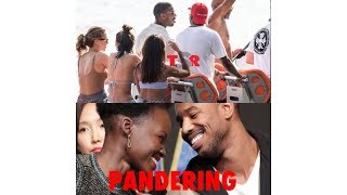Black Women Have No Dignity | Michael B. Jordan's Italian Boat Party