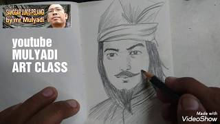 Video Menggambar wajah pahlawan Sultan Hasanudin | menggambar tema kemerdekaan download MP3, 3GP, MP4, WEBM, AVI, FLV September 2019