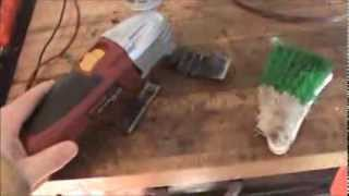 Tile Grout Cleaning POWERTOOL  How To Build it