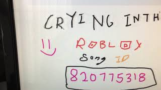 Camila Cabello - Crying In The Club (roblox song ID 2018)