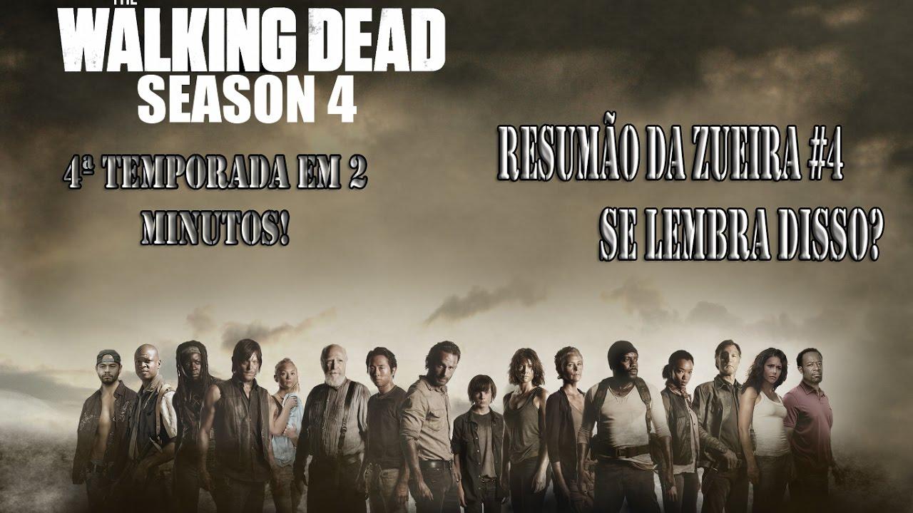 Resumo 4ª temporada The Walking Dead - O que você precisa relembrar.