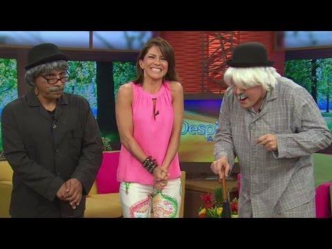 Alessandra Rosaldo se desesperó con don Sordómulo y don Chente - Despierta América