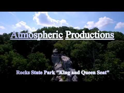"""Rocks State Park """"King and Queen Seat"""""""
