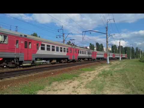 ГЖД ЭД9мк-0126. Перегон Станция Нижний Новгород - Московский.