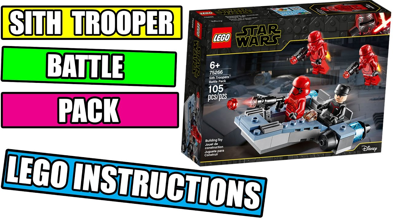 75266 SITH JET TROOPER Figure w//Blaster STAR WARS™ LEGO ®