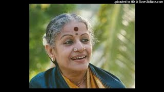 MS Subbulakshmi-Sriman Narayana-Bowli-Adi-Annamacharya