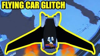 INSANE FLYING CAR Glitch! | Roblox Jailbreak Winter Update