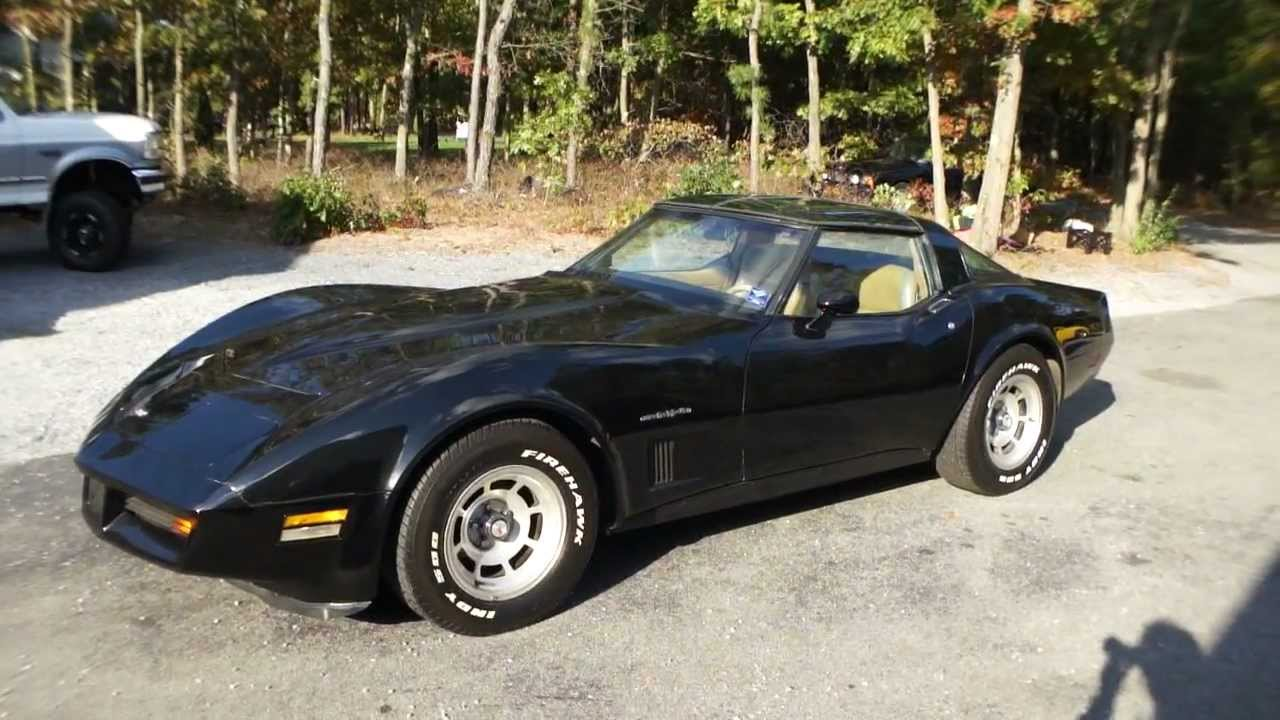 2011 Camaro For Sale >> 1982 Chevrolet Corvette Crossfire Injection For Sale - YouTube