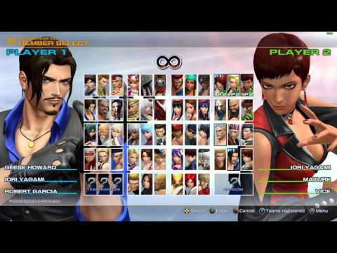 KOF XIV Steam Beta in 1080p