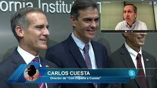 Carlos Cuesta:Sánchez es patético no se ha visto con nadie de la administración Biden, es ridículo