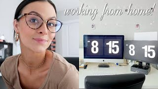 Work Day In My life | Working From Home + Fall Decor Shopping