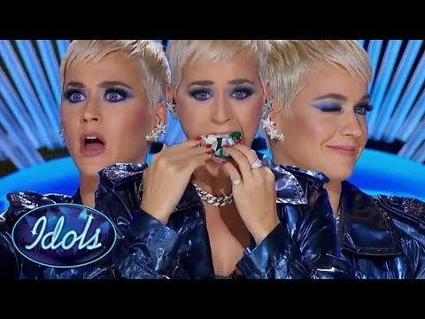 KATY PERRY Meets her Spirit Animal in the American Idol Audition Room! Idols Global Mp3