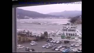 EXCLUSIVE RAW footage of the Tsunami hitting Miyagi on March 11th 2011-PART 1/6