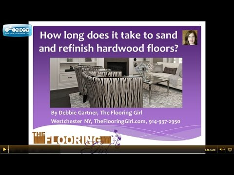 Hardwood Refinishing: How Long Does It Take To Sand And Refinish Hardwood  Floors