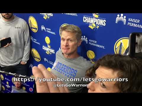 Entire KERR interview: jokes on his relationship w/ Popovich, Kawhi, Steph Curry, son Nick
