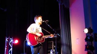 Once We Were Anarchists - Frank Turner at Winchester Guildhall 14th Feb 2014