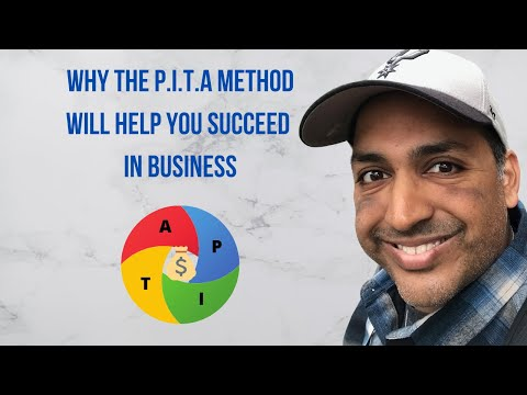 What Is The PITA Method? If You Aren't Doing 2 Of These 4 Things You'll Fail.