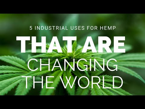 5 Industrial Uses For Hemp That Are Changing The World