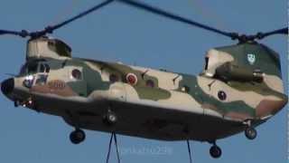 入間基地航空祭2012 CH-47 チヌークチヌーク! JASDF Iruma Air Show.