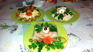 Как красиво украсить блюда и съесть. Часть 2