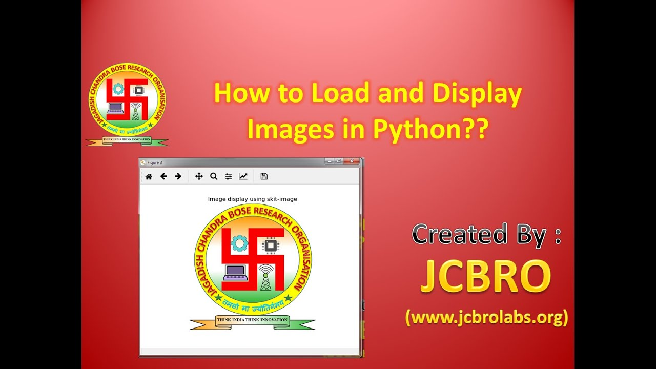 How to read and display images in Python?