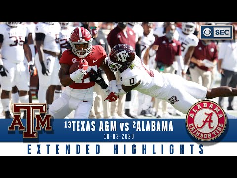 #13 Texas A&M vs #2 Alabama: Extended Highlights | CBS Sports HQ