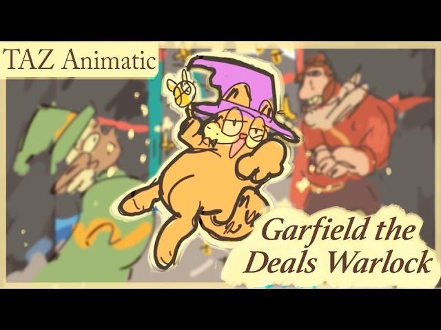The Adventure Zone Animatic Garfield The Deals Warlock Youtube