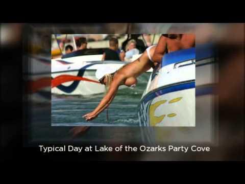 ozarks cove Lake party