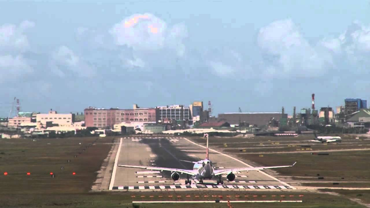 2014.7.21 RCTP 8X speed RWY 05L .桃園機場八倍速飛機起降 - YouTube